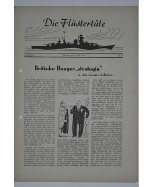 """Die Flüstertüte Nr. 52 15. Juli 1942 Bordzeitung Kreuzer """"Admiral Hipper""""-20"""
