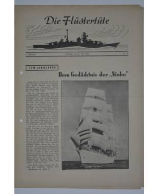 """Die Flüstertüte Nr. 54 26. Juli 1942 Bordzeitung Kreuzer """"Admiral Hipper""""-20"""