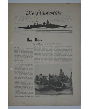 """Die Flüstertüte Nr. 55 30. Juli 1942 Bordzeitung Kreuzer """"Admiral Hipper""""-20"""