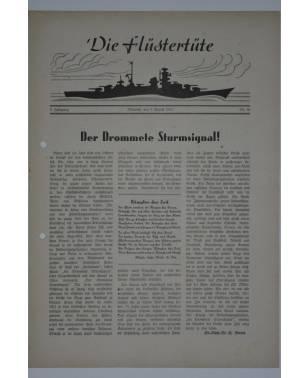 """Die Flüstertüte Nr. 56 5. August 1942 Bordzeitung Kreuzer """"Admiral Hipper""""-20"""