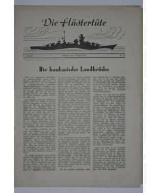 """Die Flüstertüte Nr. 57 9. August 1942 Bordzeitung Kreuzer """"Admiral Hipper""""-20"""