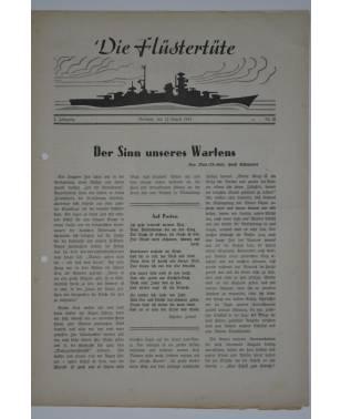 """Die Flüstertüte Nr. 58 12. August 1942 Bordzeitung Kreuzer """"Admiral Hipper""""-20"""