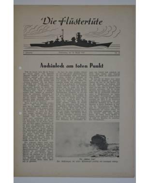 """Die Flüstertüte Nr. 60 20. August 1942 Bordzeitung Kreuzer """"Admiral Hipper""""-20"""