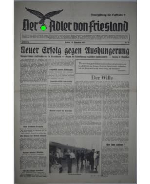 Der Adler von Friesland Frontzeitung der Luftflotte 2 Nr. 64 17. November 1939-20