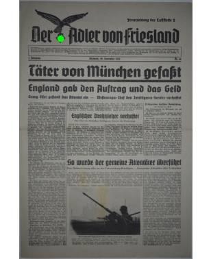 Der Adler von Friesland Frontzeitung der Luftflotte 2 Nr. 68 22. November 1939-20