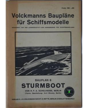 Volckmanns Baupläne für Schiffsmodelle Nr. 8 Sturmboot-20