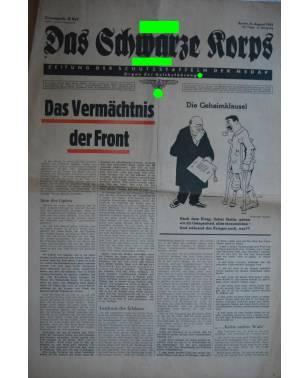 Das Schwarze Korps 32. Folge 6. August 1942-20