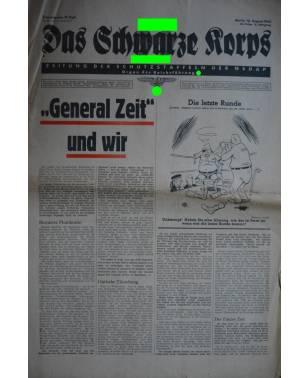 Das Schwarze Korps 33. Folge 13. August 1942-20