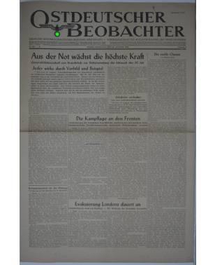 Ostdeutscher Beobachter Nr. 228 20. August 1944 Posen-20