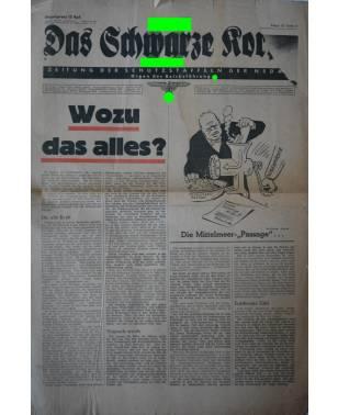 Das Schwarze Korps 29. Folge 16. Juli 1942-20