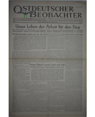 Ostdeutscher Beobachter Nr. 232 25. August 1944 Posen-20