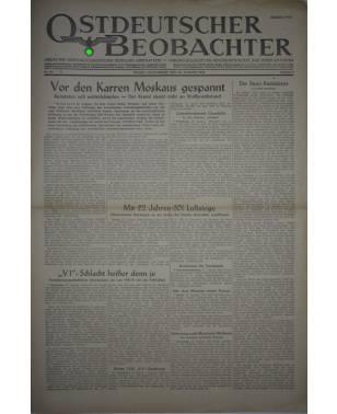 Ostdeutscher Beobachter Nr. 233 26. August 1944 Posen-20