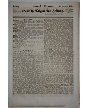 Deutsche Allgemeine Zeitung Nr. 12 12. Januar 1844-20