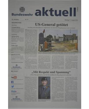 Bundeswehr aktuell Nr. 31 11. August 2014-20