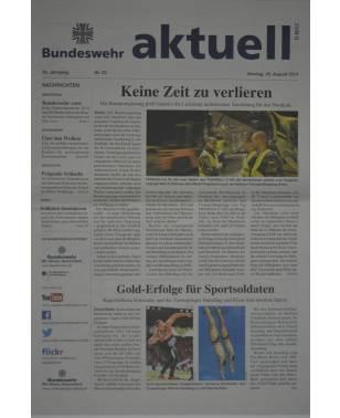 Bundeswehr aktuell Nr. 33 25. August 2014-20