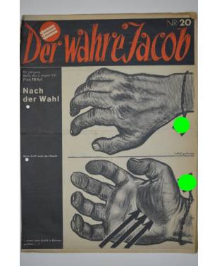 Der Wahre Jacob Nr. 20 6. August 1932-20