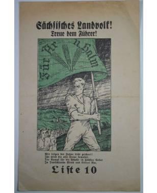 Wahlwerbung Sächsisches Landvolk zur Reichstagswahl am 14. September 1930-20