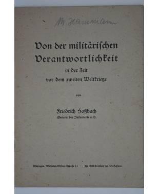 Von der militärischen Verantwortlichkeit Friedrich Hoßbach 1948-20