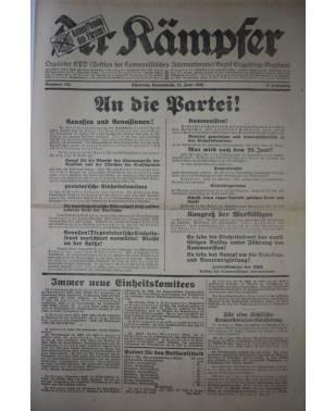 Der Kämpfer Organ der KPD Nr. 134 12. Juni 1926-20