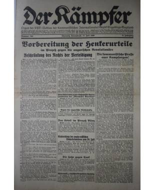 Der Kämpfer Organ der KPD Nr. 164 17. Juli 1926-20