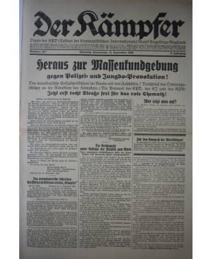 Der Kämpfer Organ der KPD Nr. 207 18. September 1926-20
