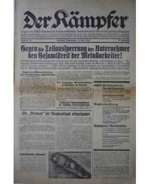 Der Kämpfer Organ der KPD Nr. 88 14. April 1928-20