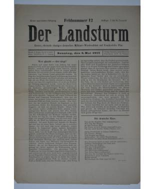 Der Landsturm Feldnummer 12 9. Mai 1915-20