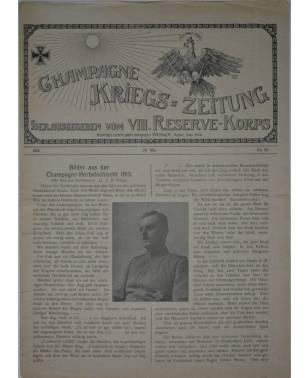 Champagne-Kriegszeitung VIII. Reserve-Korps Nr. 119 20. Mai 1916-20