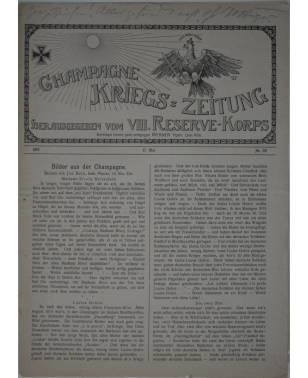 Champagne-Kriegszeitung VIII. Reserve-Korps Nr. 118 17. Mai 1916-20