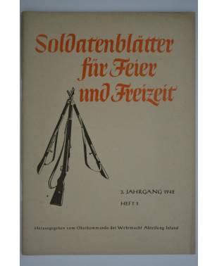 Soldatenblätter für Feier und Freizeit Heft 2 1942-20