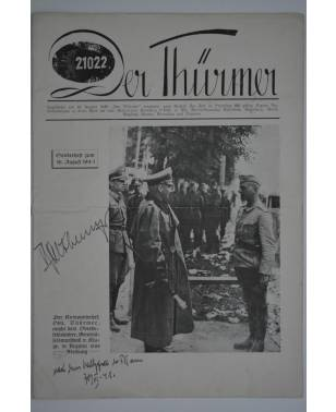 Der Thürmer Sonderheft 16. August 1941 PK 689-20