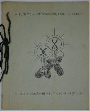 Fünfte Kriegsweihnacht 1943 1. und 2. Kompanie Luftnachrichten-Regiment 2 Italien-20