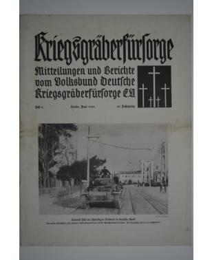 Kriegsgräberfürsorge Heft 6 Juni 1941-20