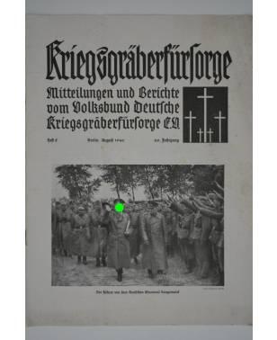 Kriegsgräberfürsorge Heft 8 August 1940-20