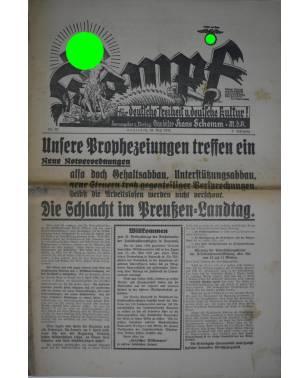 Kampf Nr. 22 28. Mai 1932 Hans Schemm Bayreuth-20