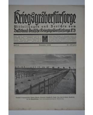 Kriegsgräberfürsorge Heft 11 November 1930-20
