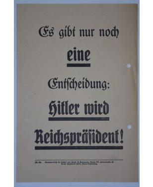 Wahlflugblatt NSDAP Reichspräsidentenwahl 1932 Nr. 26 Adolf Hitler-20
