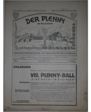 Der Plenny Der Kriegsgefangene Folge 1 Januar 1932 B.e.ö.K.-20