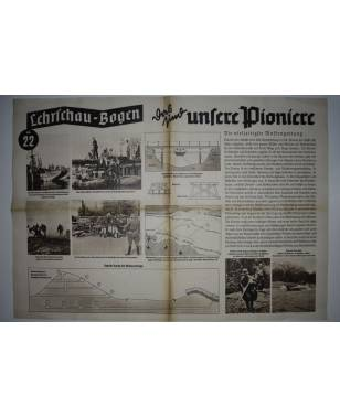 Lehrschau-Bogen Nr. 22/22a Pioniere-20