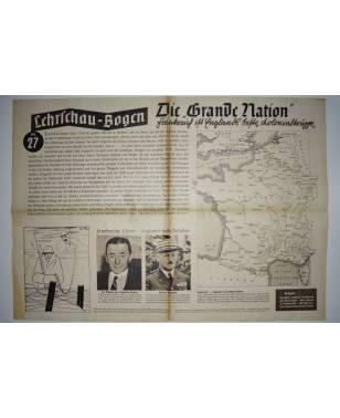 Lehrschau-Bogen Nr. 27/27a Frankreich Grande Nation-20