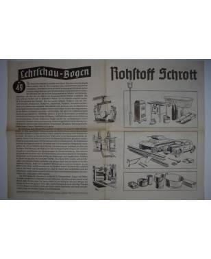 Lehrschau-Bogen Nr. 49/49a Rohstoff Schrott-20