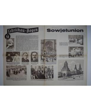 Lehrschau-Bogen Nr. 58/58a Sowjetunion-20