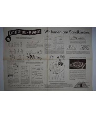 Lehrschau-Bogen Nr. 76/76a Wir lernen am Sandkasten-20