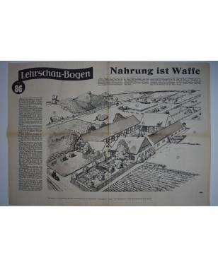 Lehrschau-Bogen Nr. 86/86a Nahrung ist Waffe-20