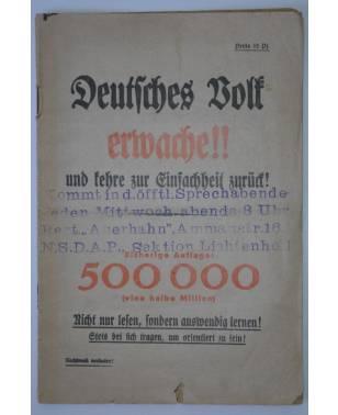 Deutsches Volk erwache!! und kehre zur Einfachheit zurück! 1930 Anton Hütte-20