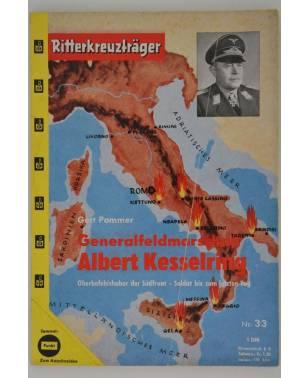 Ritterkreuzträger Generalfeldmarschall Albert Kesselring Gert Pommer Nr. 33-20