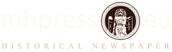 MH Press - Historical Newspaper Online Shop